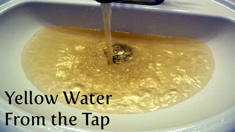 Yellow Water from the Tap: Causes, Concerns, and Solutions